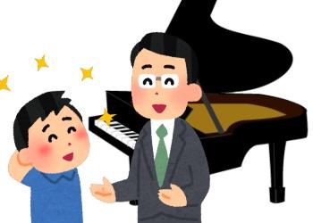 ピアノの先生に才能を調べてもらう
