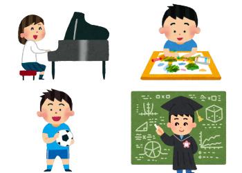 子供の色々な素質