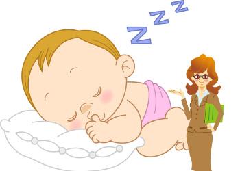 赤ちゃんと睡眠