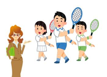 個性を持つテニス少年